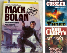 Action and Adventure Curated by Nerman's Books & Collectibles