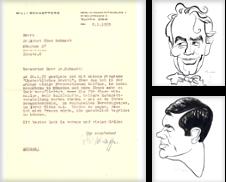 Autographen Sammlung erstellt von Rainer Kurz - Antiquariat in Oberaudorf