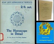 """Astrologie Sammlung erstellt von Occulte Buchhandlung """"Inveha"""""""