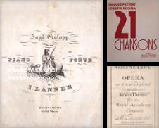 Musikdrucke Noten erstellt von Musikantiquariat Marion Neugebauer