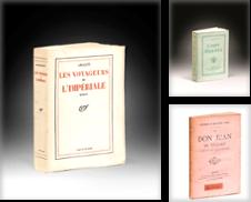 Littérature, Édition Originale, Brochure De l'Époque de Librairie  Amélie Sourget