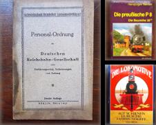 Eisenbahn Sammlung erstellt von Buchhandlung Euchler & Antiquariat