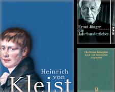Deutsche Literatur Sammlung erstellt von Antiquariat Alte Seiten Göttingen