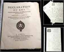 Antike Dokumente Sammlung erstellt von Phoenix Antiquariat & Autographen