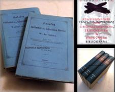 Bibliografie Sammlung erstellt von HESPERUS Buchhandlung & Antiquariat