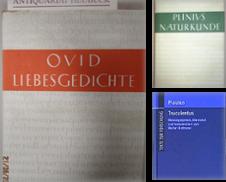 Altphilologie Sammlung erstellt von Antiquariat Heubeck