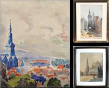 Aquarelle Sammlung erstellt von Kunsthandel & Antiquariat Magister Ruß