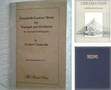 Bibliography Sammlung erstellt von Travis & Emery Music Bookshop ABA