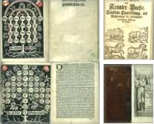 Alte Drucke Sammlung erstellt von Antiquariat Weinek