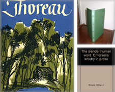 Concord Authors, Tranccendentalists Curated by Retlok's Bookstore