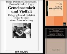 Erziehungswissenschaft Sammlung erstellt von Versandantiquariat Christoph Groß