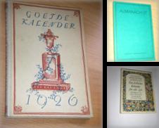 Almanache - Jahrbücher Sammlung erstellt von Versandantiquariat Rainer Kocherscheidt