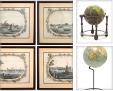 Globes Sammlung erstellt von Antiquariaat de Roo