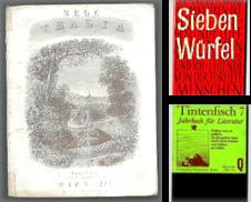Almanache (Anthologien) Sammlung erstellt von Antiquariat  Jürgen Fetzer