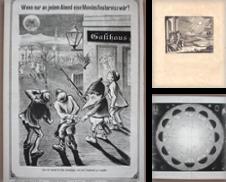 Astronomie GRAPHIK Sammlung erstellt von Carl Adler's Buch- und Graphikkabinett