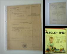 alte Originalpapiere & Unterlagen Sammlung erstellt von Agroplant GmbH, Antiquariat www.ts-buch.