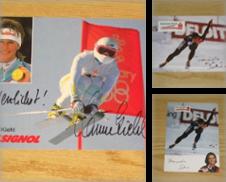 Autogrammkarten Wintersport Sammlung erstellt von Versandantiquariat Höbald