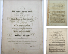 Antique Sheet Music Curated by The Bookmonger