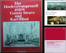 Geschichte Sammlung erstellt von Antiquariat Claus Rietzschel