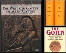 Ägyptologie Sammlung erstellt von Antiquariat Lenzen