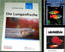 Aquaristik Sammlung erstellt von Antiquariat  Löwenstein
