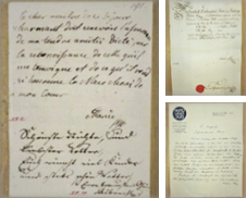 Autographen Sammlung erstellt von Matthaeus Truppe Antiquariat