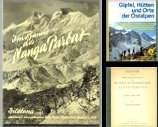 002 Alpinistik Sammlung erstellt von Antiquariat Dietmar Brezina