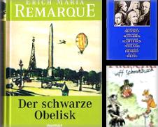 Deutsche Literatur Sammlung erstellt von Antiquariat Bücherkeller
