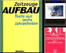 Exil Sammlung erstellt von Dr. Reinhard Hauke Versandantiquariat