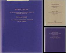 Mitteilungen des Deutschen Archäologischen Instituts (Römische Abteilung) Sammlung erstellt von Buchhandel Jürgens