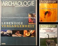 Archäologie Sammlung erstellt von Antiquariat Bernhard