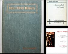 Biographys Sammlung erstellt von Antiquariat Sibylle Böhme