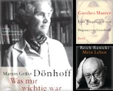 Biografien Sammlung erstellt von Versandantiquariat Dirk Buchholz