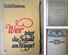 1. Weltkrieg Sammlung erstellt von Antiquariat Gisa Hinrichsen