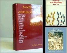 Anthropologie Sammlung erstellt von Antiquariat Walter Nowak