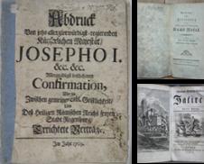 18. Jahrh Sammlung erstellt von Antiquariat  Braun