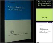 Arbeitsrecht, Sozialrecht und Sozialversicherungsrecht Proposé par Antiquariat + Verlag Klaus Breinlich