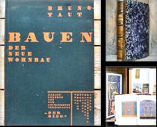 Architektur (Innenarchitektur) Sammlung erstellt von Antiquariat Thomas Rezek