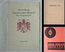Ausstellungskataloge Sammlung erstellt von Antiquariat Herold