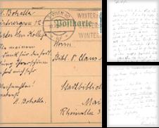 Autographen Sammlung erstellt von Antiquariat Halkyone