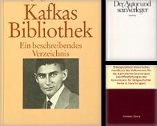"""Bibliographie Buchwesen Verlage Sammlung erstellt von Antiquariat """"Der Büchergärtner"""""""