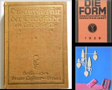 Architektur & Design Sammlung erstellt von Querschnitt Antiquariat