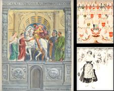 Alte Graphik aller Art (Aquarelle und Zeichnungen) Sammlung erstellt von Peter Bierl Buch- & Kunstantiquariat