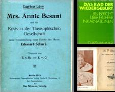 Esoterik, Geheim- und Grenzwissenschaften (Theosophische Gesellschaft) Sammlung erstellt von Versandantiquariat Bernd Keßler