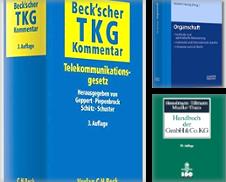 Recht (Handel und Wirtschaft) Sammlung erstellt von Zentralantiquariat Leipzig GmbH