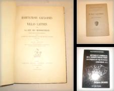 Archeologie Proposé par LIBRAIRIE PHILIPPE  BERTRANDY