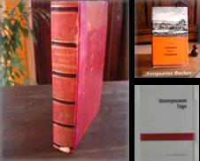 Biographien & Erinnerungen Sammlung erstellt von Antiquariat Buchau