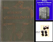 Architektur Sammlung erstellt von Antiquariat Herold