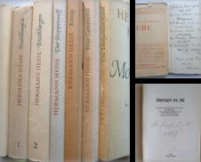 Belletristik Sammlung erstellt von Ostritzer Antiquariat