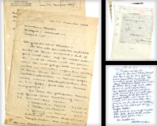 01 Autographen (KUNST) Sammlung erstellt von Eberhard Köstler Autographen&Bücher oHG
